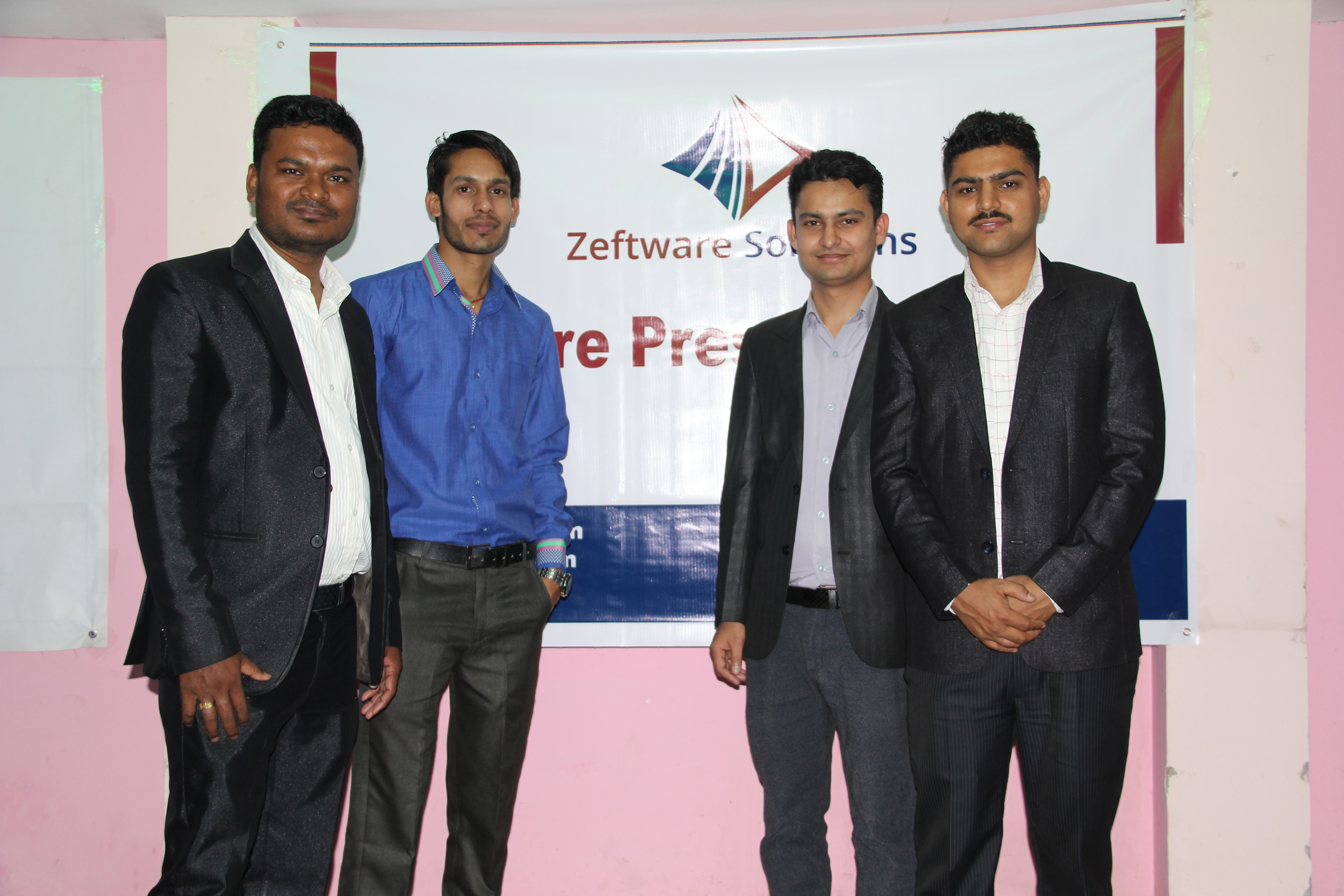 Founders of Zeftware Solutions